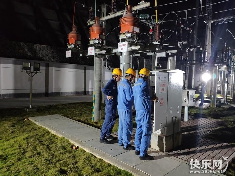 贵港供电:35千伏同美送变电工程投运助力优化营商环境