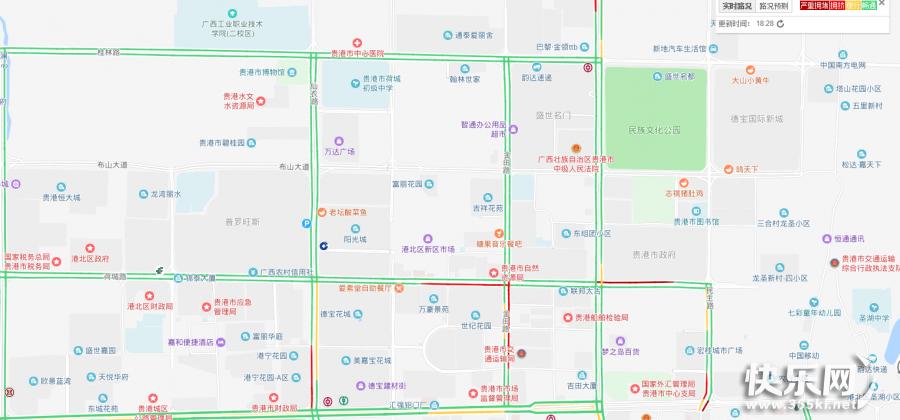 街道堵已經成了習慣,現在開車出門都要打開百度地圖了