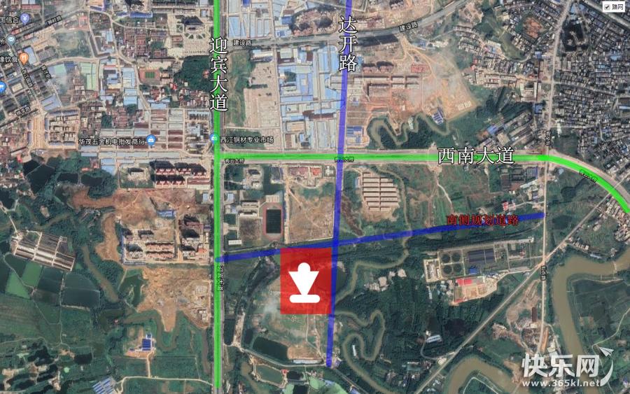 刚刚贵港土拍结果曝光!广西地产集团砸下4.7339亿元,竞得城西片区新地块