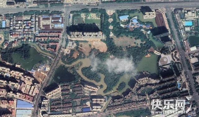 卫星视图看贵港,不一样的视角看贵港也很美!
