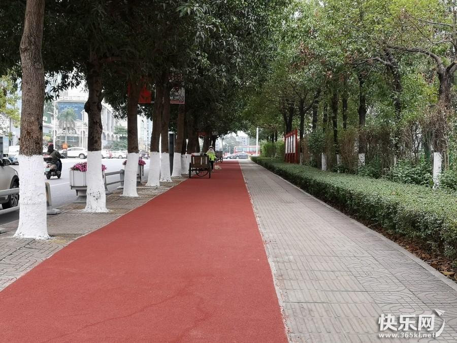 贵港新建了一条生态绿道,你去体验过了吗?