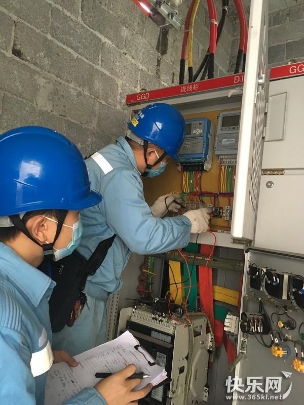 贵港供电局及时处理计量故障确保客户复工用电