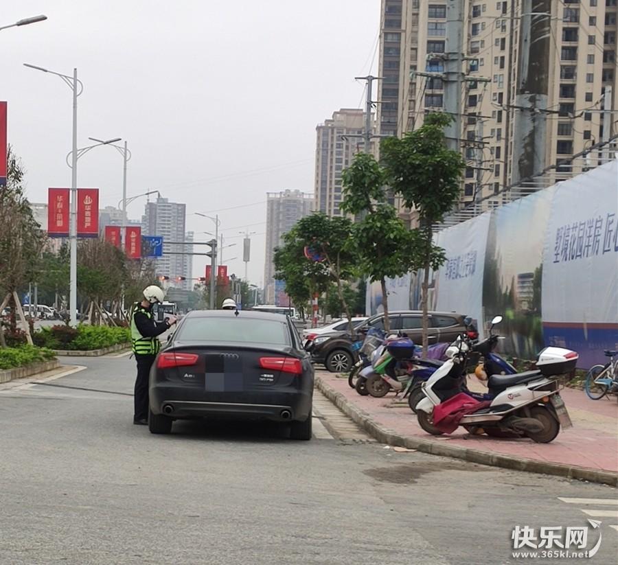 贵港大力整治乱停乱放,能让贵港的交通环境改善吗?