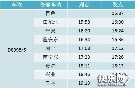 坐动车的注意了!全国铁路4月10日大调,广西多条线路有变化!